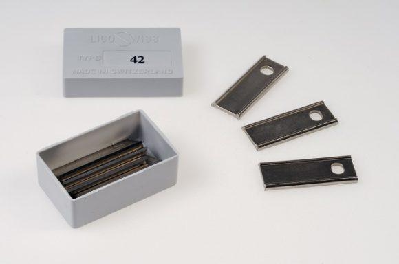 Ersatzklingen No.42/52 / Spare blades No. 42/52