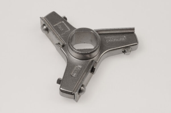 Messer A90, 3 Flügel / Knife A90, 3 wings, inox