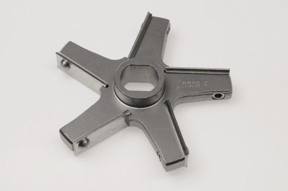 Messer E130, 5 Flügel / Knife E130, 5 wings, inox