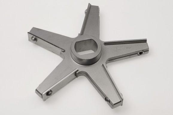 Messer FW200, 5 Flügel / Knife FW200, 5 wings, inox