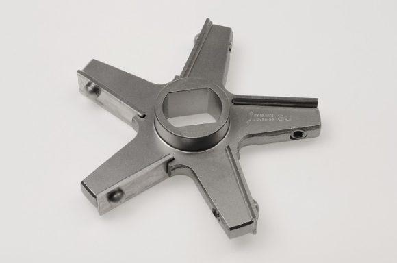 Messer GU160, 5 Flügel / KnifeGU160, 5 wings, inox