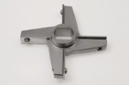 Messer GU160, 4 Flügel / Knife GU160, 4 wings, inox