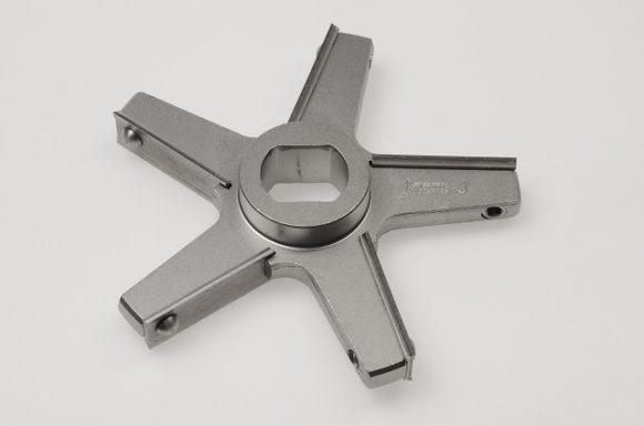 Messer J150, 5 Flügel / Knife J150, 5 wings, inox