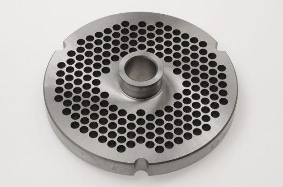Scheibe No. 52 mit Bund / Plate with hub, inox