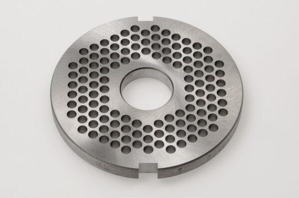 Lochscheibe D114 codiert (2 gleich grosse Nuten) / Plate coded